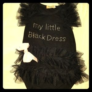 Little black dress body suit